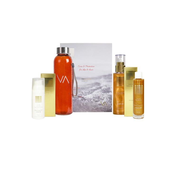 Набор солнцезащитных средств для волос и тела Kit Luxury Four Seasons