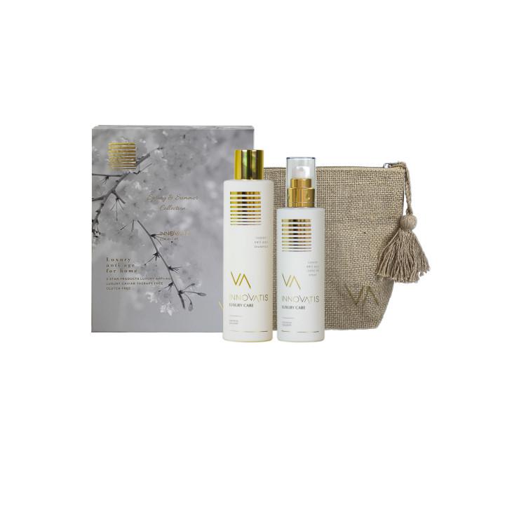 Набор из лимитированной коллекции с несмываемым спрей-кондиционером Luxury Spring and Summer – Spray